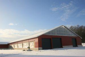 Põllumajandushoonete ehitus Valmaotsa farmer
