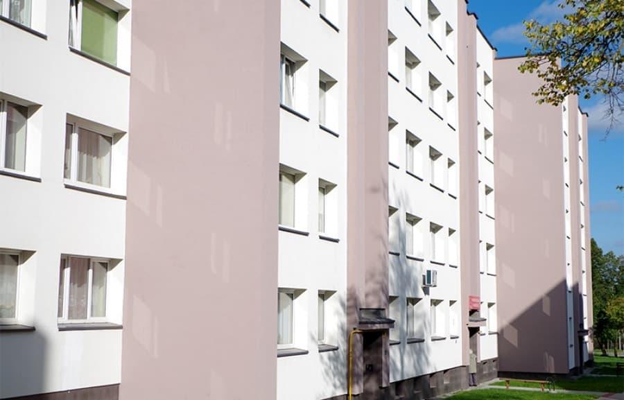 Renoveeritud korterelamu