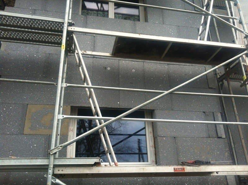 Soojustuse paigaldus fassaadile